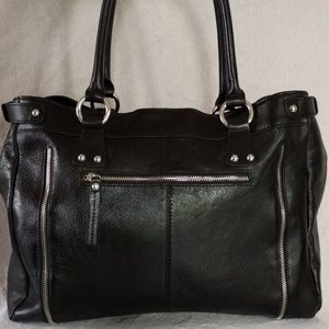 Wilsons Leather Large Career or Student Tote EUC